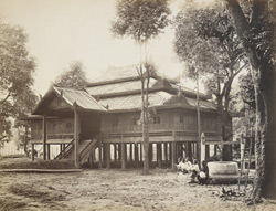 S.P.G. Mission House at Mandalay, built by the King for the Revd. J.E. Marks